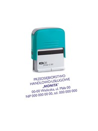 Gumka do pieczątki Colop Printer Compact 30